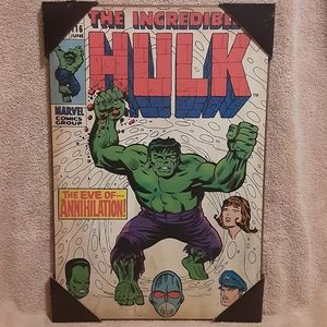 Marvel The Incredible Hulk The Eve Of Annihilation